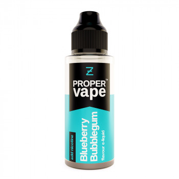 Blueberry Bubblegum Proper Vape 100ml Shortfill by Zeus Juice