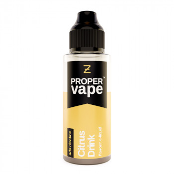 Citrus Drink Proper Vape 100ml Shortfill by Zeus Juice