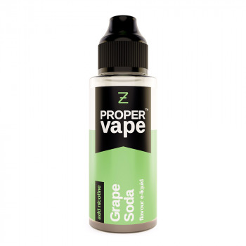 Grape Soda Proper Vape 100ml Shortfill by Zeus Juice