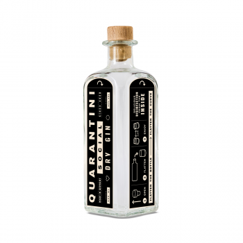 Quarantini Social Dry Gin 42% 500ml