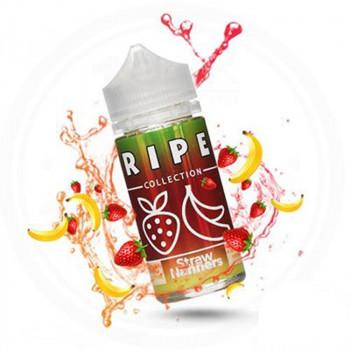 Straw Nanners (100ml) Plus e Liquid by Ripe Collection