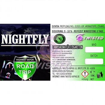 Nightfly 10ml Aroma by Twisted Vaping