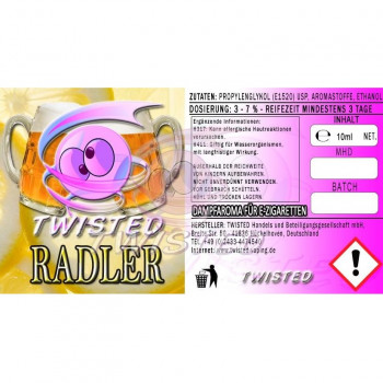 Radler 10ml Aroma by Twisted Vaping