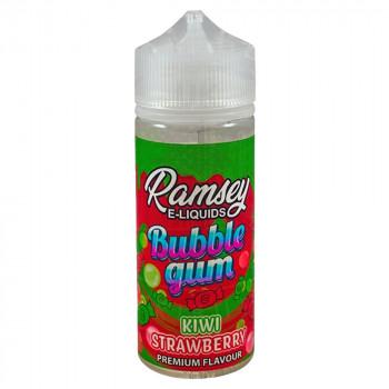 Kiwi Strawberry Bubba Bubble Gum 100ml Shortfill Liquid by Ramsey