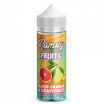 Blood Orange and Grapefruit Fruits 100ml Shortfill Liquid by Ramsey
