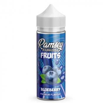 Blueberry Fruits 100ml Shortfill Liquid by Ramsey
