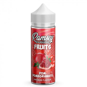 Pom Pomegranate Fruits 100ml Shortfill Liquid by Ramsey