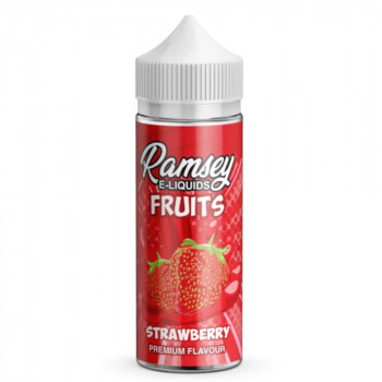 Strawberry Fruits 100ml Shortfill Liquid by Ramsey