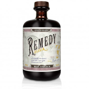 Remedy Elixir Likör auf Rum - Basis 34% 700ml