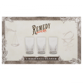 Remedy Glas Longdrink 300ml 3er Pack