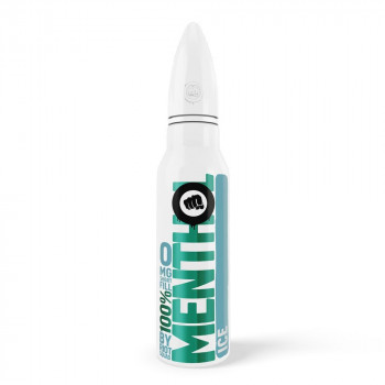 ICE 100% Menthol 50ml Shortfill Liquid by Riot Squad