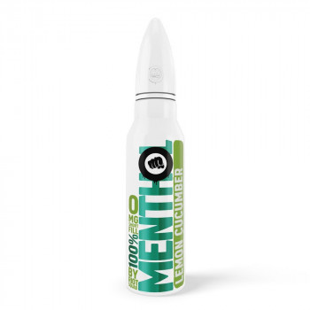 Lemon Cucumber 100% Menthol 50ml Shortfill Liquid by Riot Squad