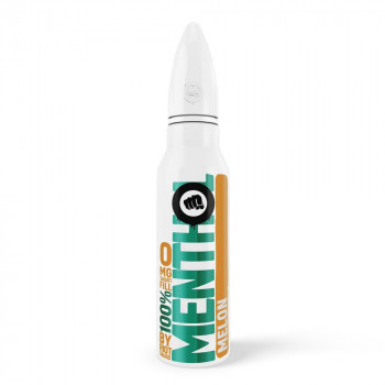 Melon 100% Menthol 50ml Shortfill Liquid by Riot Squad