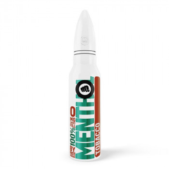 Tobacco 100% Menthol 50ml Shortfill Liquid by Riot Squad