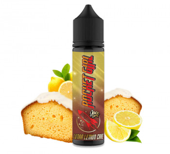 Lunar Lemon Cake 15ml Longfill Aroma by Rocket Girl