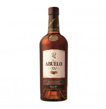 RON ABUELO Anejo XV Napoleon Cognac Cask Finish 15 Anos Rum 40% Vol. 700ml