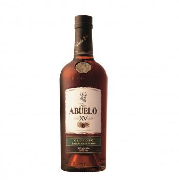 RON ABUELO Anejo XV Oloroso Sherry Cask Finish 15 Anos Rum 40% Vol. 700ml