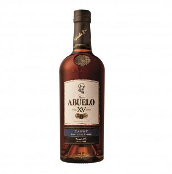 RON ABUELO Ron Añejo XV TAWNY Port Cask Finish Rum 40% Vol. 700ml
