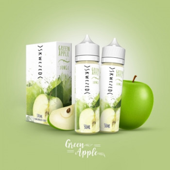 Green Apple (2x50ml) Plus by Skwezed E-Liquid