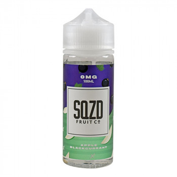 Apple Blackcurrant 100ml Shortfill Liquid by SQZD