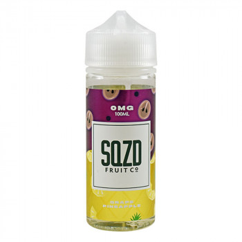 Grape Pineapple 100ml Shortfill Liquid by SQZD