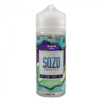 Apple Blackcurrant on ICE 100ml Shortfill Liquid by SQZD