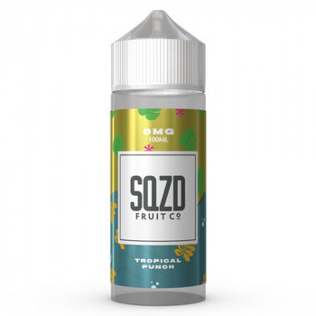 Tropical Punch 100ml Shortfill Liquid by SQZD