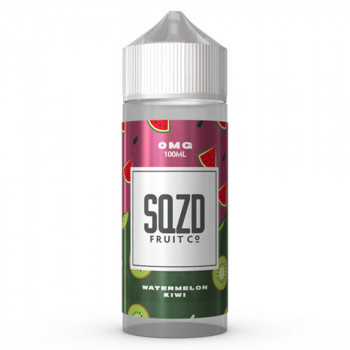 Watermelon Kiwi 100ml Shortfill Liquid by SQZD