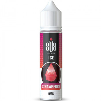 ICE Strawberry (50ml) Plus Liquid by SUA Vapors