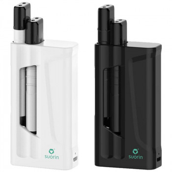 Suorin iShare 1,8ml (2x0,9ml) 130mAh Dual Kit mit 1400mAh Powerbank
