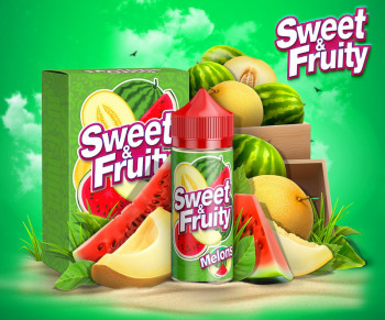 Sweet & Fruity Melons (80ml) Plus e Liquid by Humble Juice