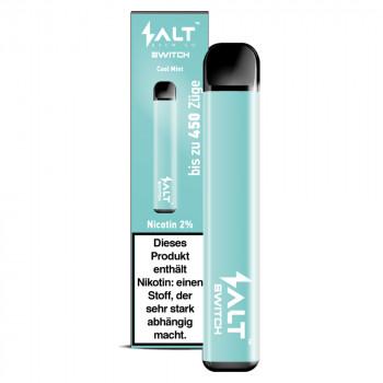 Salt Switch E-Zigarette 450 Züge 350mAh 20mg NicSalt Cool Mint