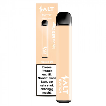 Salt Switch E-Zigarette 450 Züge 350mAh 20mg NicSalt Lemon Soda Ice