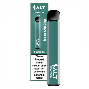 Salt Switch E-Zigarette 450 Züge 350mAh 20mg NicSalt Melon