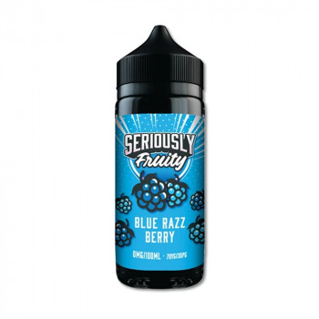 Blue Razz Berry 100ml Shortfill Liquid by Seriously Fruity