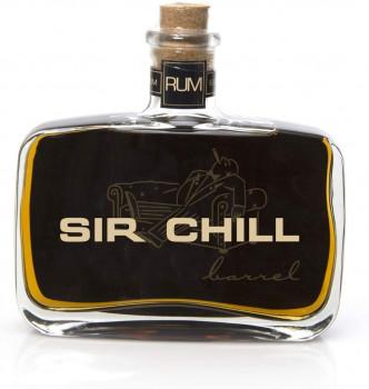 SIR CHILL Barrel Rum, belgischer Premium Rum mit feinem Tabak Aroma 37,78% Vol. - 500 ml