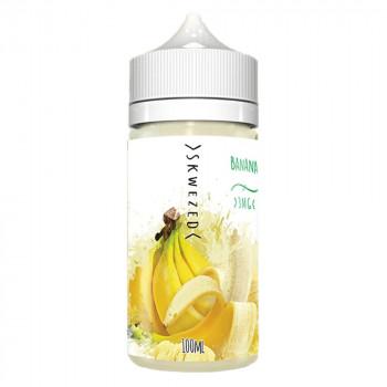 Banana 100ml Shortfill Liquid by Skwezed