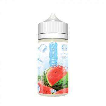 Watermelon Ice 100ml Shortfill Liquid by Skwezed