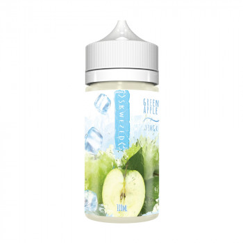 Green Apple Ice 100ml Shortfill Liquid by Skwezed