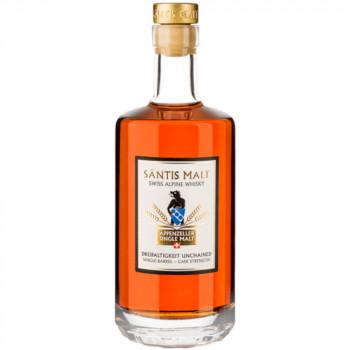 Säntis Malt Edition Dreifaltigkeit Unchained Cask Strenght 64,6% Vol. Whisky 7 Jahre 500ml% Vol. 500ml