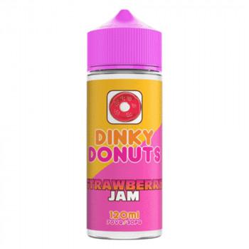 Strawberry Jam 100ml Shortfill Liquid by Dinky Donuts