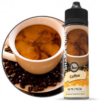 Coffee 40ml Shortfill Liquid by Surmount