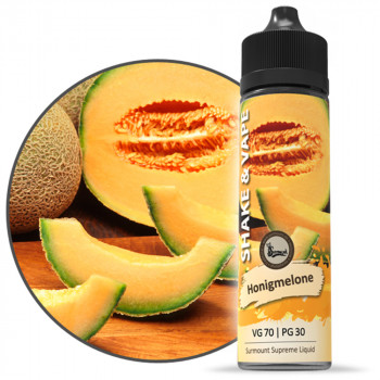Honigmelone 40ml Shortfill Liquid by Surmount