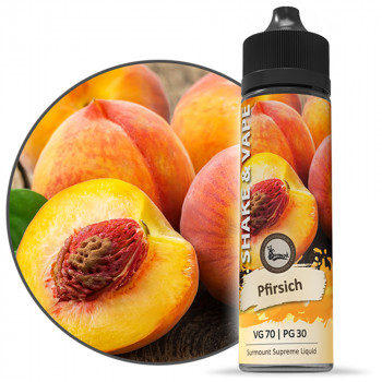 Pfirsich 40ml Shortfill Liquid by Surmount