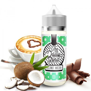 Coconut Mocha (100ml) Plus e Liquid by The Daily Grind