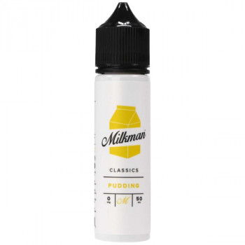 Pudding (50ml) Plus e Liquid by The Milkman