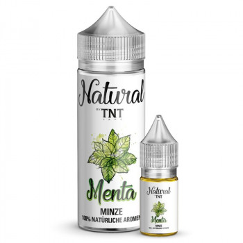 Minze Natural Serie 10ml Longfill Aroma by TNT Vape