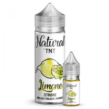 Zitrone Natural Serie 10ml Longfill Aroma by TNT Vape