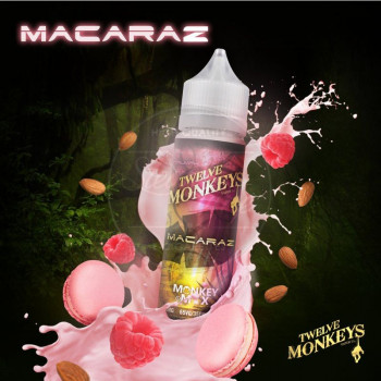 MacaRaz (50ml) Plus e Liquid by Twelve Monkeys MHD Ware