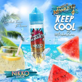 Nikko Iced (50ml) Plus e Liquid by Twelve Monkeys Keep Cool